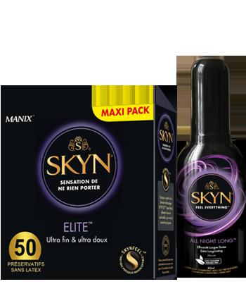 Skyn Elite + 1 Gel All Night Long Offert