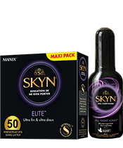Skyn Elite + 1 Gel All Night Long Offert