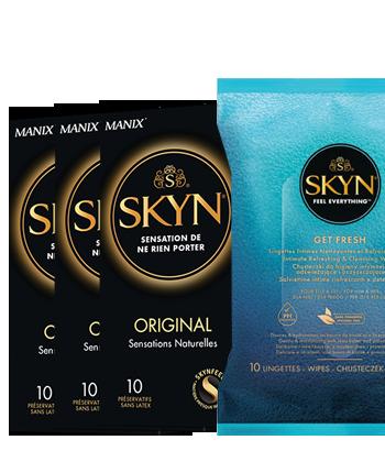 Skyn Original + Lingettes offertes